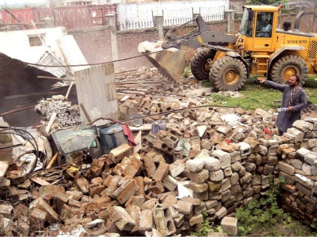 A small-scale operation against slums is already under way in the capital. PHOTO: FILE
