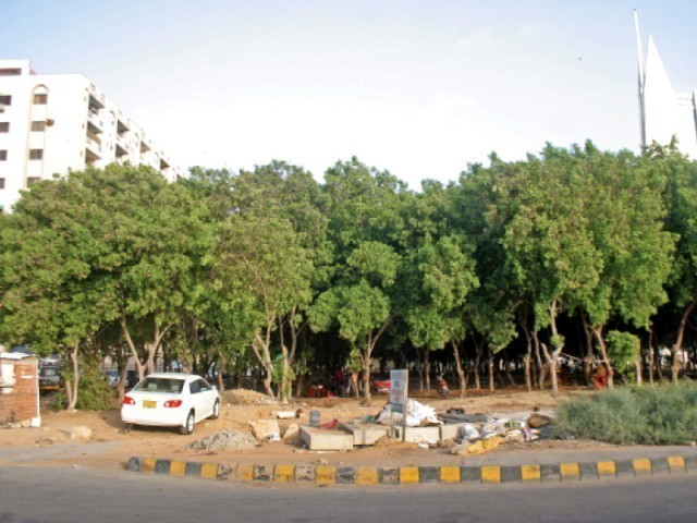 According to international standards, the forest area should comprise 25 per cent of inhabited land. In Pakistan, the forest area is only 4.8 per cent of the country's area. PHOTO: ATHAR KHAN/EXPRESS
