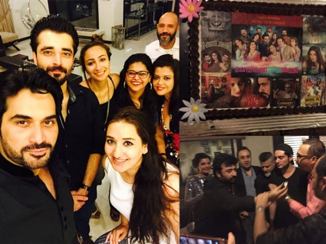 The superstar also invited cast and directors of upcoming films to rejoice at the revival of Pakistani cinema.