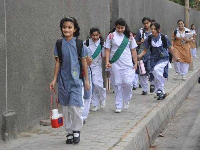 Image result for express tribune education sindh
