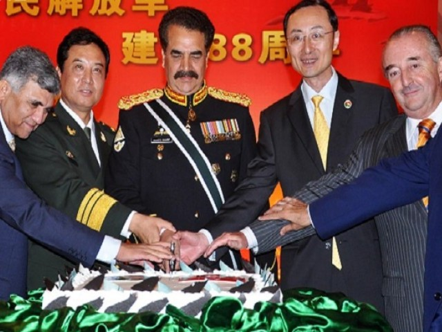 Army Chief says Beijing, Islamabad have a common enemy. PHOTO: ONLINE
