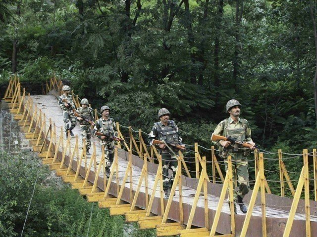 Three civilians were killed in 'unprovoked' firing by Indian troops along LoC. PHOTO: REUTERS