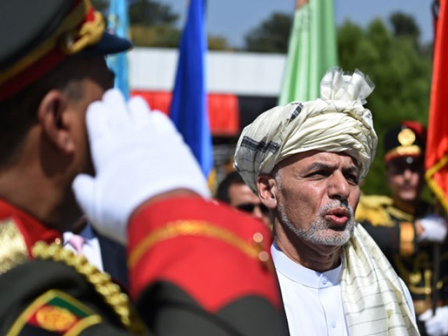 Afghan President Ashraf Ghani. PHOTO: AFP