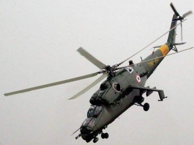 MI-35 attack helicopters. PHOTO: AFP