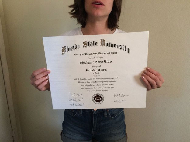 Woman tries selling college diploma on eBay to pay off