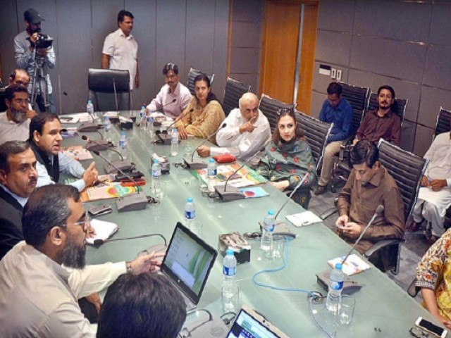 Marvi Memon said the initiative would be taken by employing geo-tagging and smart technology. PHOTO: APP