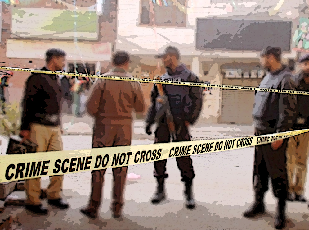 The CTD claimed that the two dead 'terrorists' were involved in the killing of over hundred people, including a dozen policemen.  PHOTO: FILE
