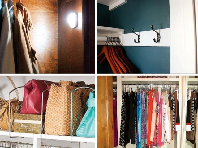 If Youu0027re Dispirited By Your Small Closet, Take Heart: There Are A Bunch Of  Ways To Make Your Space More Efficient And Organised U2014 And Even Make It  Seem ...