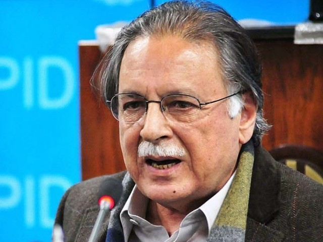Federal Information Minister Pervaiz Rashid. PHOTO: APP