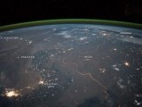 An astronaut took this picture from International Space Station. PHOTO: NASA EARTH OBSERVATORY