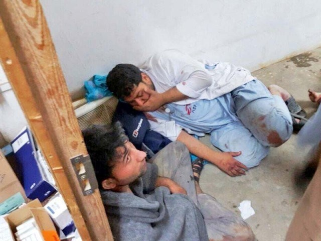The US military took responsibility on Tuesday for the air strike on the hospital in Kunduz . PHOTO: AFP