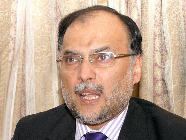 Minister for Planning and Development Ahsan Iqbal. PHOTO: EXPRESS/ZAFAR ASLAM