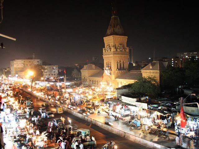 Karachi's population will increase by 50% in the next 15 years to 24.84 million. PHOTO: ONLINE
