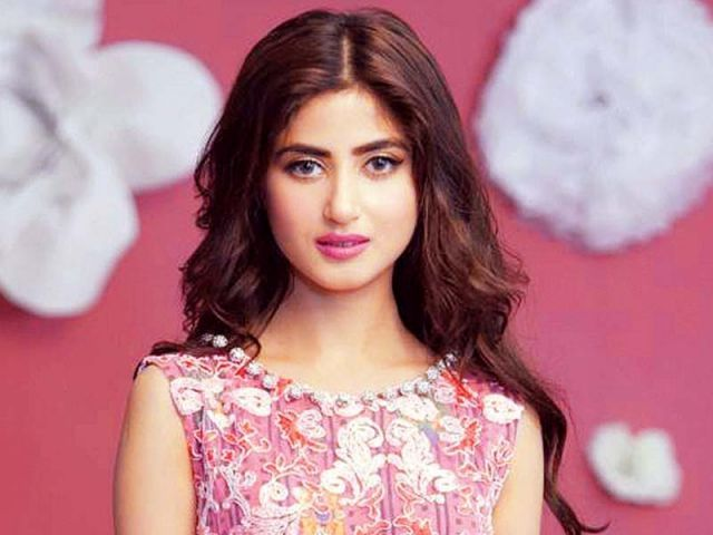 Television actor Sajal Aly to play female lead in the film. PHOTOS: PUBLICITY