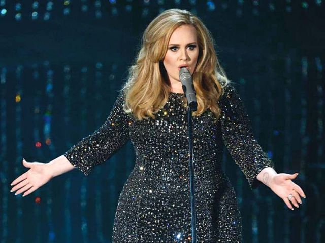 Industry-watchers expect Adele to be 2015's crucial artist when 25, her first album in nearly five years, goes on sale on November 20. PHOTO: FILE