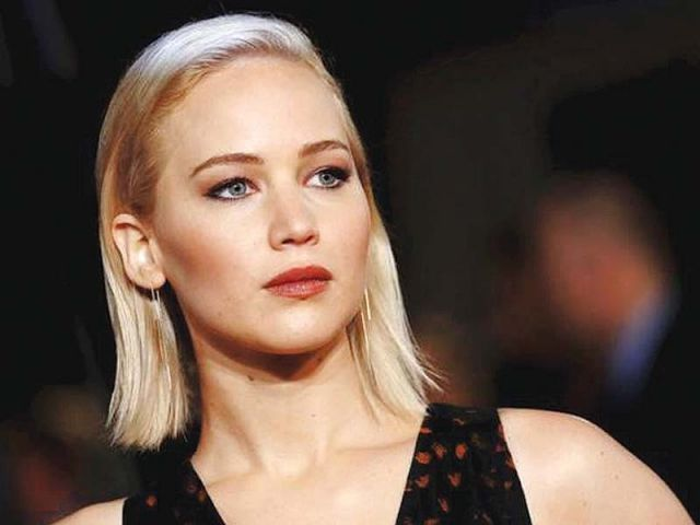 Jennifer Lawrence hits back at trolls and media over dress controversy