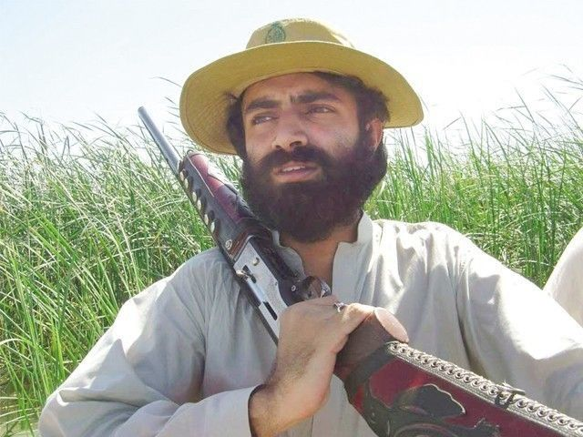 A file photo of Brahamdagh Bugti.