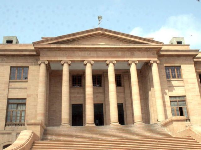 Sindh High Court building. PHOTO: EXPRESS