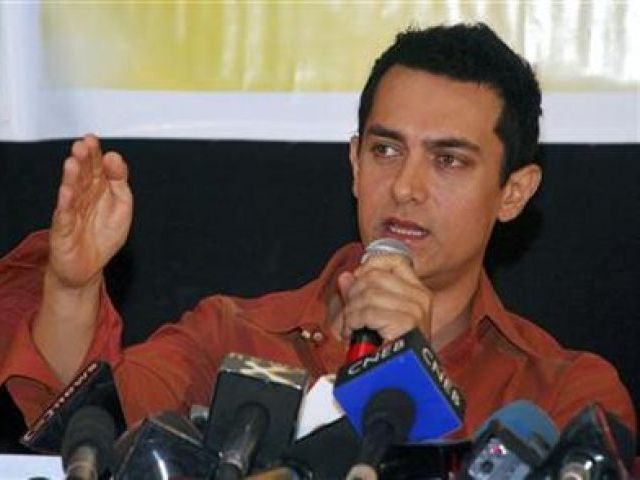 Bollywood actor, Aamir Khan PHOTO: REUTERS