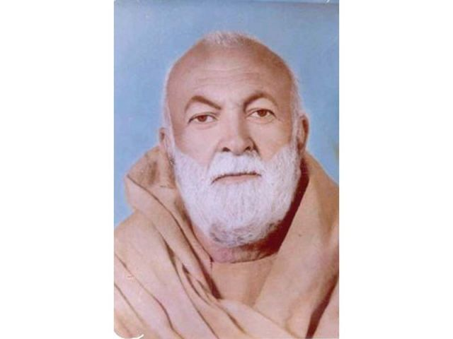 Khan Shaheed Abdul Samad Achakzai PHOTO FILE