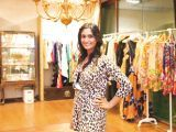 Aanya Aggarwal. Gul Zeb of Carnival Fashion House organises an event in Dubai. PHOTOS COURTESY SAVVY PR