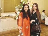 Asia and Noveen.Rehana Saigol exhibits her private collection of jewellery in Lahore. PHOTOS COURTESY BILAL MUKHTAR EVENTS & PR