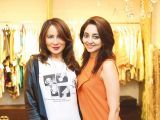 Faiza Shaikh and Aleena Shah. Gul Zeb of Carnival Fashion House organises an event in Dubai. PHOTOS COURTESY SAVVY PR