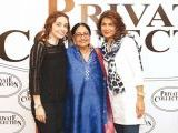 Juggan Kazim, Rehana Saigol and Sabine Saigol. Rehana Saigol exhibits her private collection of jewellery in Lahore. PHOTOS COURTESY BILAL MUKHTAR EVENTS & PR