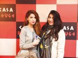 Komal and Hamael. Tariq Naeem Chughtai launches Casa Rouge restaurant in Islamabad. PHOTOS COURTESY REZZ PR