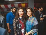 Maliha and Sadia Malik. Tariq Naeem Chughtai launches Casa Rouge restaurant in Islamabad. PHOTOS COURTESY REZZ PR