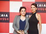 Natasha Ahmed and Natasha. Tariq Naeem Chughtai launches Casa Rouge restaurant in Islamabad. PHOTOS COURTESY REZZ PR
