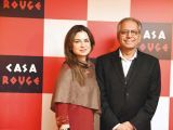 Nuzhat and Syed Asif Shah. Tariq Naeem Chughtai launches Casa Rouge restaurant in Islamabad. PHOTOS COURTESY REZZ PR