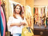 Saakshi Nath. Gul Zeb of Carnival Fashion House organises an event in Dubai. PHOTOS COURTESY SAVVY PR
