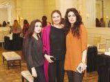 Saira, Sara and Mahasin. Rehana Saigol exhibits her private collection of jewellery in Lahore. PHOTOS COURTESY BILAL MUKHTAR EVENTS & PR