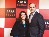 Sameera and Muhammad Abbass. Tariq Naeem Chughtai launches Casa Rouge restaurant in Islamabad. PHOTOS COURTESY REZZ PR