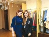 Sarah Tariq and Honey Jaffery. Gul Zeb of Carnival Fashion House organises an event in Dubai. PHOTOS COURTESY SAVVY PR