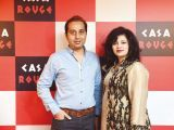 Shauzab and Kanwal. Tariq Naeem Chughtai launches Casa Rouge restaurant in Islamabad. PHOTOS COURTESY REZZ PR