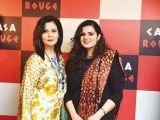 Uzma Shujaat and Minah. Tariq Naeem Chughtai launches Casa Rouge restaurant in Islamabad. PHOTOS COURTESY REZZ PR