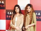 Zahra and Shuaima. Tariq Naeem Chughtai launches Casa Rouge restaurant in Islamabad. PHOTOS COURTESY REZZ PR