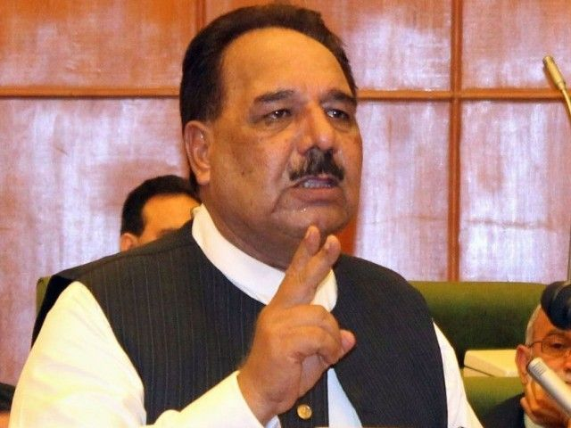 AJK Minister for Rehabilitation Abdul Majid Khan told a seminar on human rights in Muzaffarabad on Thursday that the decision to hold dialogue. PHOTO: AFP