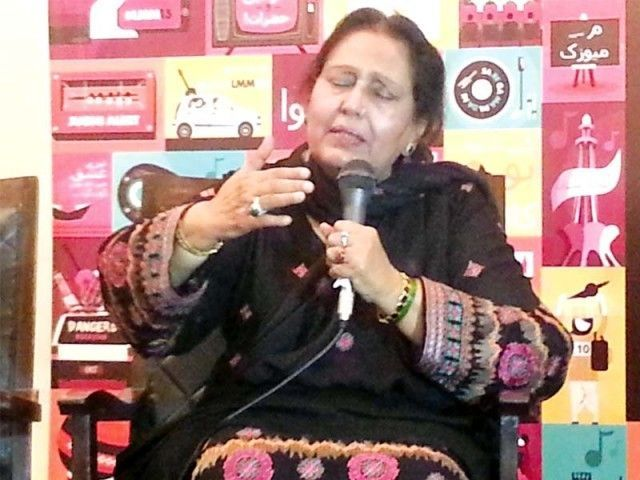 Suraiya Multanikar got her name after singing the Multani Kafi to perfection. PHOTO: FILE