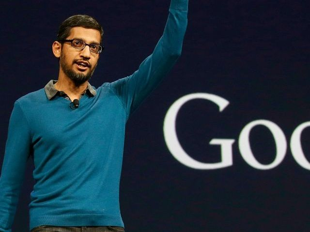 A file photo of Google CEO Sundar Pichai. PHOTO: AFP