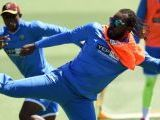 west-indies-batsman-chris-gayle-r-kicks-the-ball-past-a-teammate-during-training-ahead-of-their-2015-cricket-world-cup-match-against-pakistan-in-christchurch-on-february-20-2015-2-2