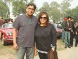 Abbas Bukhari and Madeeha.. Vintage & Classic Car Club of Pakistan present a classic car show in Lahore. PHOTOS COURTESY SAVVY PR