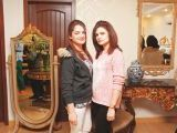 Ammara and Asima. Asifa and Nabeel launch Lifestyle Couture in Lahore. PHOTOS COURTESY SAVVY PR