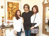 Faria, Babloo and Rachel Gill. Asifa and Nabeel launch Lifestyle Couture in Lahore. PHOTOS COURTESY SAVVY PR