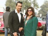Hammad and Rima. Vintage & Classic Car Club of Pakistan present a classic car show in Lahore. PHOTOS COURTESY SAVVY PR