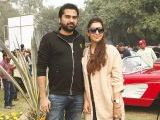 Hassan and Shiza. Vintage & Classic Car Club of Pakistan present a classic car show in Lahore. PHOTOS COURTESY SAVVY PR