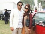 Jahanzeb and Fatima. Vintage & Classic Car Club of Pakistan present a classic car show in Lahore. PHOTOS COURTESY SAVVY PR
