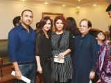 Nabeel, Asifa, Hadiqa Kiyani and Mickey.. Asifa and Nabeel launch Lifestyle Couture in Lahore. PHOTOS COURTESY SAVVY PR
